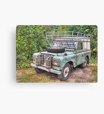 Land Rover Series III 109 Canvas Print