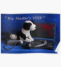 His Master's VOIP Poster