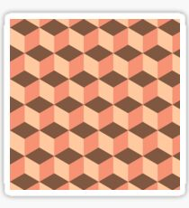 Geometric vector background Sticker