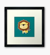 Little Lion Framed Print