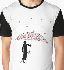 It's raining hearts Graphic T-Shirt