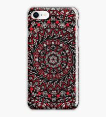 Red Mandala iPhone Case/Skin