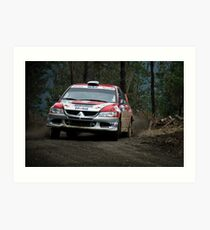 RallyMobil Concepcion Art Print