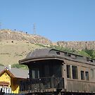 Vintage Train, Golden, Colorado by lenspiro