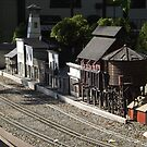 Model Rails, Model Trains, Golden, Colorado by lenspiro