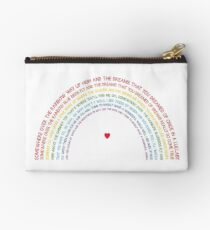 Somewhere over the Rainbow Studio Pouch