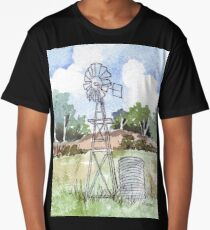 Windpomp in South Africa Long T-Shirt
