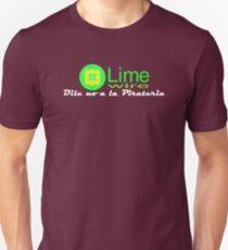 Limewire: Dile no a la pirateria Unisex T-Shirt