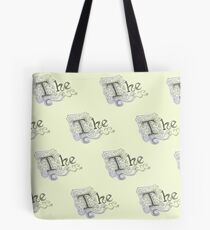 "Spongebob - Detailed ""The"" Pattern Tote Bag"