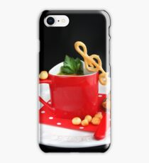If music be the food of love, play on..... iPhone Case/Skin