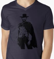 Clint Eastwood The Good, The Bad and The Ugly Men's V-Neck T-Shirt