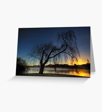 Winter willow 2 Greeting Card
