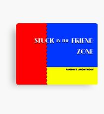 Stuck in the Friend Zone (Sonic the Hedgehog 2 Parody) Canvas Print