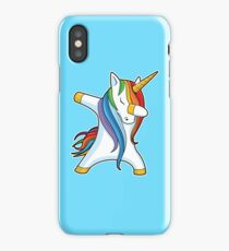 Unicorn Dabbing - Dab Dance Tshirt iPhone Case/Skin