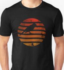 Bird Grunge Sunset Unisex T-Shirt