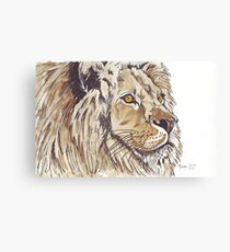 Dominion (African Lion) Canvas Print