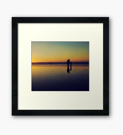 Waiting... Framed Print