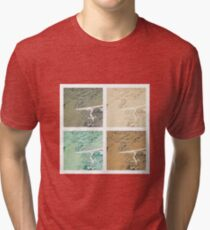 Summer day fly  Tri-blend T-Shirt