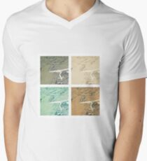 Summer day fly  Men's V-Neck T-Shirt