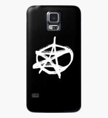 AZ signature Logo White Case/Skin for Samsung Galaxy
