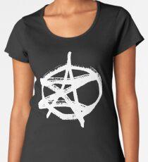 AZ signature Logo White Women's Premium T-Shirt