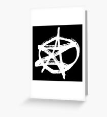 AZ signature Logo White Greeting Card