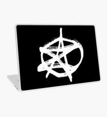 AZ signature Logo White Laptop Skin