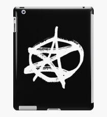 AZ signature Logo White iPad Case/Skin