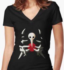 Sachiel - Neon Genesis Evangelion Women's Fitted V-Neck T-Shirt