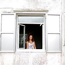 Girl in the window by sparrowdk