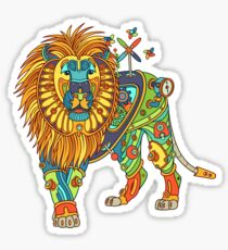 Lion, from the AlphaPod collection Sticker
