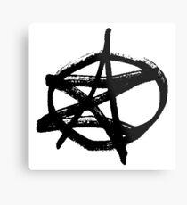 AZ Signature Logo Metal Print