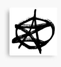 AZ Signature Logo Canvas Print