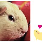 Hazel Baby meets himself by guineapigempire