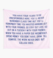College. Tapestry