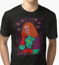MYRTLE SNOW/ BURN THE WITCH Tri-blend T-Shirt