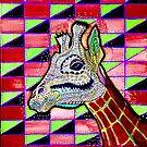 Psychedelic Giraffe  by njpunks