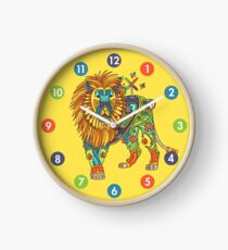 Lion, from the AlphaPod collection Clock