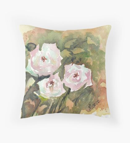 Triple delight Throw Pillow