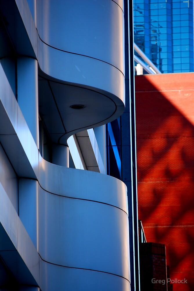 Curves and Colours by Greg Pollock
