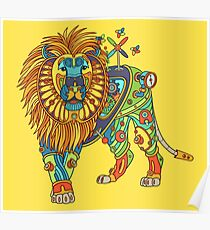 Lion, from the AlphaPod collection Poster