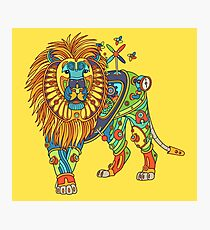 Lion, from the AlphaPod collection Photographic Print