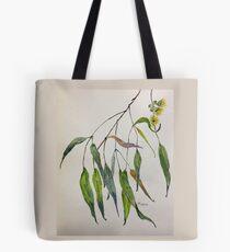 Gum leaves - Botanical illustration Tote Bag
