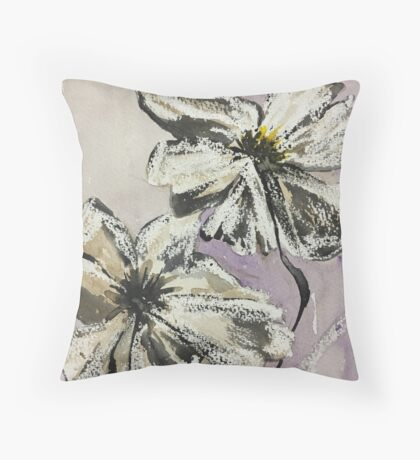 Evening Primrose Throw Pillow