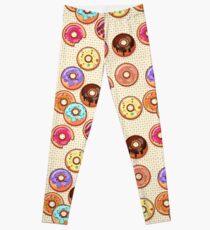 I Love Donuts Yummy Baked Goodies Sugary Sweet Leggings