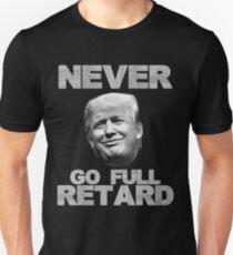 Camiseta ajustada Nunca ir retraso completo