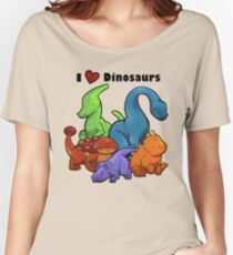 I <3 Dinosaurs Women's Relaxed Fit T-Shirt