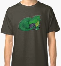 D20 Green Dragon Classic T-Shirt