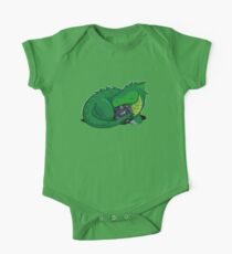 D20 Green Dragon Baby Body Kurzarm