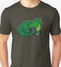 D20 Green Dragon Unisex T-Shirt